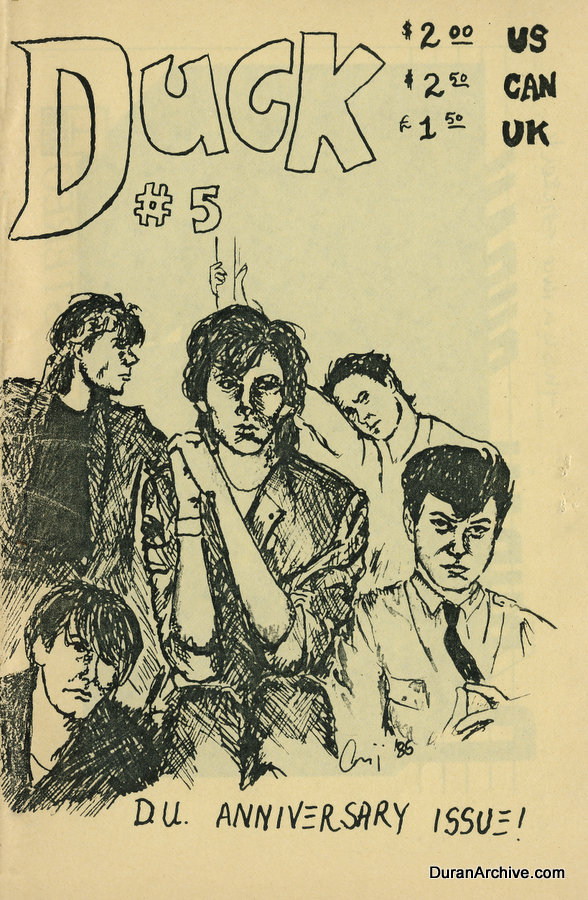 duran duran - DUCK issue 5