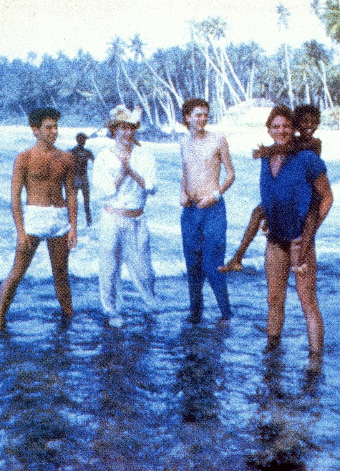 Duran Duran in Sri Lanka to film the Save A Prayer video 1980s (3)