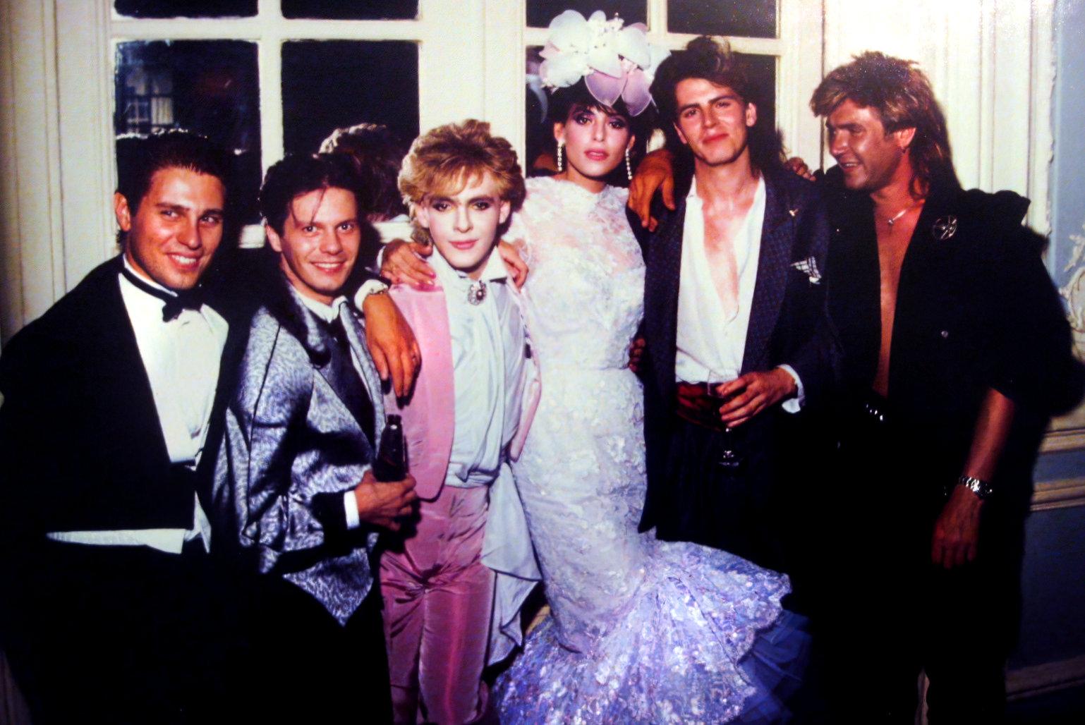 Nick Rhodes and Julie Ann Friedman wedding photo (1984)-gigapixel