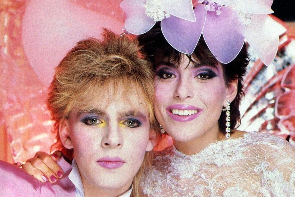 See when Nick Rhodes married Julie Anne Friedman (1984)