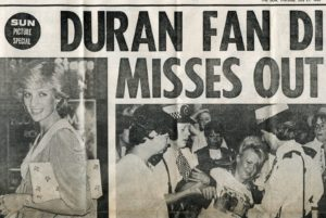 When Princess Diana and Prince Charles missed Duran Duran's concert encore (1983)