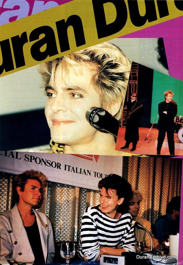 Duran Duran - Japanese music magazine