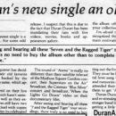1985 Save A Prayer single review