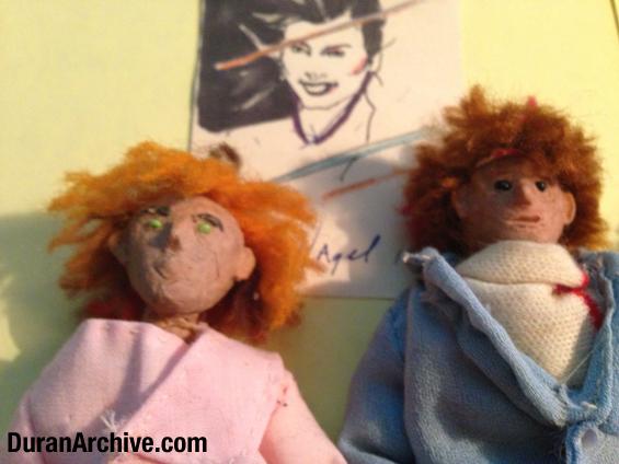 Nick & John Doll Closeup
